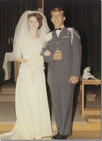 mom and daddy wedding